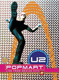 Cover U2 - Popmart - Live From Mexico [DVD]